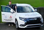 13 February 2020; Mitsubishi Motors are delighted to announce their new partnership with Dublin GAA as official vehicle sponsors. Pictured is Dublin hurler Chris Crummey at Parnell Park in Dublin. Photo by Sam Barnes/Sportsfile