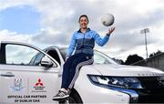 13 February 2020; Mitsubishi Motors are delighted to announce their new partnership with Dublin GAA as official vehicle sponsors. Pictured is Dublin footballer Lyndsey Davey at Parnell Park in Dublin. Photo by Sam Barnes/Sportsfile