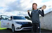 13 February 2020; Mitsubishi Motors are delighted to announce their new partnership with Dublin GAA as official vehicle sponsors. Pictured is Dublin camogie player Leah Butler at Parnell Park in Dublin. Photo by Sam Barnes/Sportsfile