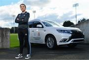 13 February 2020; Mitsubishi Motors are delighted to announce their new partnership with Dublin GAA as official vehicle sponsors. Pictured is Dublin camogie player Emma Flanagan at Parnell Park in Dublin. Photo by Sam Barnes/Sportsfile