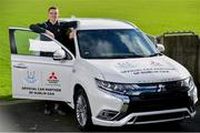 13 February 2020; Mitsubishi Motors are delighted to announce their new partnership with Dublin GAA as official vehicle sponsors. Pictured is Dublin footballer Brian Fenton at Parnell Park in Dublin. Photo by Sam Barnes/Sportsfile