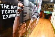 13 February 2020; A general view of the National Football Exhibition at the County Museum in Dundalk, Co Louth. The Football Association of Ireland, Dublin City Council and The Department of Transport, Tourism and Sport have joined forces to create a National Football Exhibition as part of the build up to Ireland's Aviva Stadium playing host to four matches in the UEFA EURO 2020 Championships in June. The Exhibition is a celebration of Irish football and 60 Years of the European Championships. The Exhibition will be running in the County Museum, Dundalk, Co. Louth from February 14th – 29th. Photo by Stephen McCarthy/Sportsfile