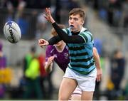 13 February 2020; Saul Fiotzpatrick of St Gerards School during the Bank of Ireland Leinster Schools Senior Cup Second Round match between Clongowes Wood College and St Gerard's School at Energia Park in Dublin. Photo by Matt Browne/Sportsfile