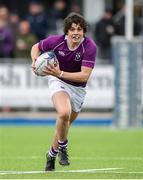 13 February 2020; Rory Morrin of Clongowes Wood College during the Bank of Ireland Leinster Schools Senior Cup Second Round match between Clongowes Wood College and St Gerard's School at Energia Park in Dublin. Photo by Matt Browne/Sportsfile