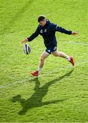 14 February 2020; Luke McGrath during the Leinster Rugby captains run at the RDS Arena in Dublin. Photo by Ramsey Cardy/Sportsfile