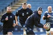 14 February 2020; Ciarán Frawley during the Leinster Rugby captains run at the RDS Arena in Dublin. Photo by Ramsey Cardy/Sportsfile