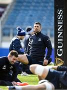 14 February 2020; Rob Kearney during the Leinster Rugby captains run at the RDS Arena in Dublin. Photo by Ramsey Cardy/Sportsfile