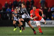 14 February 2020; Edmund Ludick of Isuzu Southern Kings is tackled by John Hodnett of Munster during the Guinness PRO14 Round 11 match between Munster and Isuzu Southern Kings at Irish Independent Park in Cork. Photo by Brendan Moran/Sportsfile