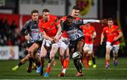 14 February 2020; Chris Farrell of Munster in action against Andell Loubser of Isuzu Southern Kings during the Guinness PRO14 Round 11 match between Munster and Isuzu Southern Kings at Irish Independent Park in Cork. Photo by Brendan Moran/Sportsfile