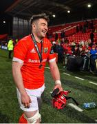 14 February 2020; Man of the Match John Hodnett of Munster after the Guinness PRO14 Round 11 match between Munster and Isuzu Southern Kings at Irish Independent Park in Cork. Photo by Brendan Moran/Sportsfile