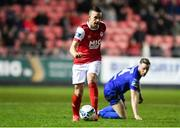 14 February 2020; Robbie Benson of St Patrick's Athletic during the SSE Airtricity League Premier Division match between St Patrick's Athletic and Waterford United at Richmond Park in Dublin. Photo by Sam Barnes/Sportsfile