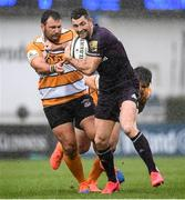 15 February 2020; Rob Kearney of Leinster in action against Benhard Aranos Coetzee of Toyota Cheetahs during the Guinness PRO14 Round 11 match between Leinster and Toyota Cheetahs at the RDS Arena in Dublin. Photo by Harry Murphy/Sportsfile