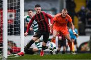 15 February 2020; Andy Lyons of Bohemians during the SSE Airtricity League Premier Division match between Bohemians and Shamrock Rovers at Dalymount Park in Dublin. Photo by Stephen McCarthy/Sportsfile