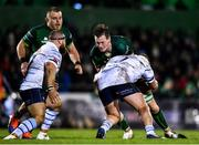 15 February 2020; Gavin Thornbury of Connacht is tackled by Rhys Gill of Cardiff Blues during the Guinness PRO14 Round 11 match between Connacht and Cardiff Blues at the Sportsground in Galway. Photo by Eóin Noonan/Sportsfile