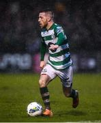 15 February 2020; Jack Byrne of Shamrock Rovers during the SSE Airtricity League Premier Division match between Bohemians and Shamrock Rovers at Dalymount Park in Dublin. Photo by Stephen McCarthy/Sportsfile