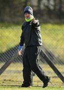 16 February 2020; Mayo manager Peter Leahy ahead of the Lidl Ladies National Football League Division 1 Round 3 match between Mayo and Waterford at Swinford Amenity Park in Swinford, Mayo. Photo by Sam Barnes/Sportsfile
