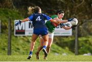 16 February 2020; Rachel Kearns of Mayo in action against Rebecca Casey of Waterford during the Lidl Ladies National Football League Division 1 Round 3 match between Mayo and Waterford at Swinford Amenity Park in Swinford, Mayo. Photo by Sam Barnes/Sportsfile