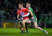 11 January 2020; Michael Hurley of Cork in action against Paul Maher of Limerick during the McGrath Cup Final match between Cork and Limerick at LIT Gaelic Grounds in Limerick. Photo by Piaras Ó Mídheach/Sportsfile