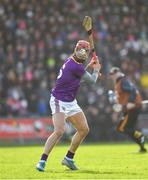 16 February 2020; Paul Morris of Wexford takes a free during the Allianz Hurling League Division 1 Group B Round 3 match between Wexford and Kilkenny at Chadwicks Wexford Park in Wexford. Photo by Ray McManus/Sportsfile