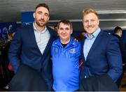 15 February 2020; Leinster players Jack Conan and James Tracy with supporters in the blue room prior to the Guinness PRO14 Round 11 match between Leinster and Toyota Cheetahs at the RDS Arena in Dublin. Photo by Harry Murphy/Sportsfile