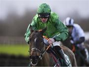 16 February 2020; Sunday A Paris, with Davy Russell up, during the Get Your 2020 Navan Membership Maiden Hurdle at Navan Racecourse in Navan, Meath. Photo by Harry Murphy/Sportsfile