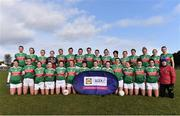 16 February 2020; The Mayo team ahead of the Lidl Ladies National Football League Division 1 Round 3 match between Mayo and Waterford at Swinford Amenity Park in Swinford, Mayo. Photo by Sam Barnes/Sportsfile