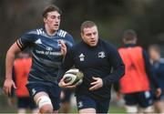 17 February 2020; Seán Cronin, right, and Charlie Ryan during Leinster Rugby squad training at UCD in Dublin. Photo by Ramsey Cardy/Sportsfile