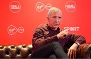 18 February 2020; Virgin Media Sport analyst Graeme Souness giving his views ahead of the Champions League last 16 tie between Atletico Madrid and Liverpool on Tuesday night (8pm kick-off on Virgin Media Sport) during an Off The Ball Live gig in association with Virgin Media, at The Alex Hotel in Dublin. Photo by Brendan Moran/Sportsfile