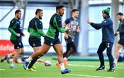 19 February 2020; Bundee Aki during Ireland Rugby squad training at IRFU High Performance Centre at the Sport Ireland Campus in Dublin. Photo by Brendan Moran/Sportsfile