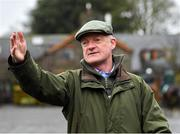 19 February 2020; Trainer Willie Mullins during a Willie Mullins Yard visit at Closutton in Bagenalstown, Co Carlow. Photo by Harry Murphy/Sportsfile