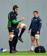 19 February 2020; Ultan Dillane during Ireland Rugby squad training at IRFU High Performance Centre at the Sport Ireland Campus in Dublin. Photo by Brendan Moran/Sportsfile