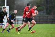 19 February 2020; Charlie Toolan of North East Area during the Shane Horgan Cup Round 4 match between North East Area and Midlands Area at Ashbourne RFC in Ashbourne, Co Meath. Photo by Piaras Ó Mídheach/Sportsfile