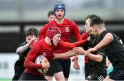19 February 2020; Oisín McDermott of North East Area during the Shane Horgan Cup Round 4 match between North East Area and Midlands Area at Ashbourne RFC in Ashbourne, Co Meath. Photo by Piaras Ó Mídheach/Sportsfile