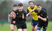 19 February 2020; Eoin Burke of Midlands Area during the Shane Horgan Cup Round 4 match between North East Area and Midlands Area at Ashbourne RFC in Ashbourne, Co Meath. Photo by Piaras Ó Mídheach/Sportsfile