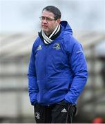 19 February 2020; Midlands Area coach Damien McCabe at the Shane Horgan Cup Round 4 match between North East Area and Midlands Area at Ashbourne RFC in Ashbourne, Co Meath. Photo by Piaras Ó Mídheach/Sportsfile
