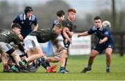 19 February 2020; Luke Byrne of Metro Area during the Shane Horgan Cup Round 4 match between Metro Area and North Midlands Area at Ashbourne RFC in Ashbourne, Co Meath. Photo by Piaras Ó Mídheach/Sportsfile