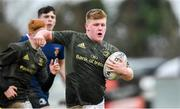 19 February 2020; Keith Farrell of Metro Area during the Shane Horgan Cup Round 4 match between Metro Area and North Midlands Area at Ashbourne RFC in Ashbourne, Co Meath. Photo by Piaras Ó Mídheach/Sportsfile