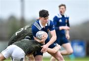 19 February 2020; Jack Crampton of North Midlands Area during the Shane Horgan Cup Round 4 match between Metro Area and North Midlands Area at Ashbourne RFC in Ashbourne, Co Meath. Photo by Piaras Ó Mídheach/Sportsfile