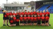 20 February 2020; The North East Squad during the Leinster Rugby U18s Girls Area Blitz at Energia Park in Dublin. Photo by Matt Browne/Sportsfile