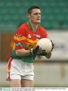 4 January 2004; John McGrath, Carlow. O'Byrne Cup, Carlow v Wicklow, Dr Cullen Park, Carlow. Picture credit; Brendan Moran / SPORTSFILE *EDI*