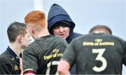 19 February 2020; Kieron Slyan, Midlands Area assistant coach, before the Shane Horgan Cup Round 4 match between North East Area and Midlands Area at Ashbourne RFC in Ashbourne, Co Meath. Photo by Piaras Ó Mídheach/Sportsfile