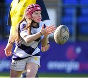 20 February 2020; Emma Larkin of North Midlands during the Leinster Rugby U18s Girls Area Blitz at Energia Park in Dublin. Photo by Matt Browne/Sportsfile