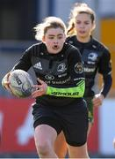 20 February 2020; Eleanor Furlong 0f Metro Area during the Leinster Rugby U18s Girls Area Blitz at Energia Park in Dublin. Photo by Matt Browne/Sportsfile