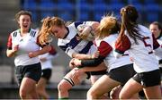 20 February 2020; Ruth Campbell of North Midlands in action against Midlands Area during the Leinster Rugby U18s Girls Area Blitz at Energia Park in Dublin. Photo by Matt Browne/Sportsfile