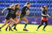 20 February 2020; Eva Sterrit of Metro Area during the Leinster Rugby U18s Girls Area Blitz at Energia Park in Dublin. Photo by Matt Browne/Sportsfile