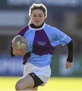 20 February 2020; Naoise O'Reilly of South East Area during the Leinster Rugby U18s Girls Area Blitz at Energia Park in Dublin. Photo by Matt Browne/Sportsfile