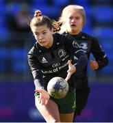 20 February 2020; Eva Sterrit of Metro Area during the Leinster Rugby U18s Girls Area Blitz match between / and / at Energia Park in Dublin. Photo by Matt Browne/Sportsfile