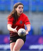 20 February 2020; Amy Turley of North East during the Leinster Rugby U18s Girls Area Blitz at Energia Park in Dublin. Photo by Matt Browne/Sportsfile