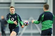 21 February 2020; Jordan Larmour during Ireland Rugby squad training at the IRFU High Performance Centre at the Sport Ireland Campus in Dublin. Photo by Seb Daly/Sportsfile