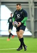 21 February 2020; Cian Healy during Ireland Rugby squad training at the IRFU High Performance Centre at the Sport Ireland Campus in Dublin. Photo by Seb Daly/Sportsfile